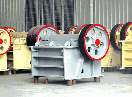 Operating Manual For Keegor Jaw Crusher