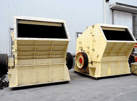 Oran Algeria Africa low price large gypsum impact crusher