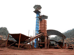 high quality new calcite iron ore processing line sell at