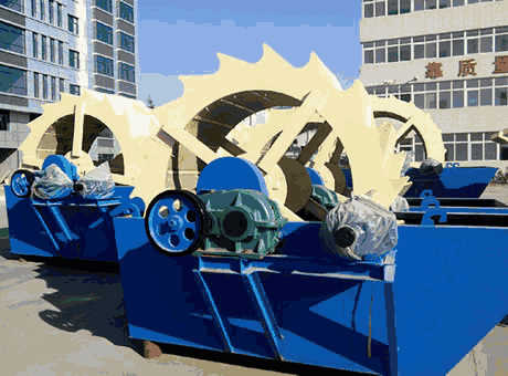 tangible benefits environmental soft rock sand washer