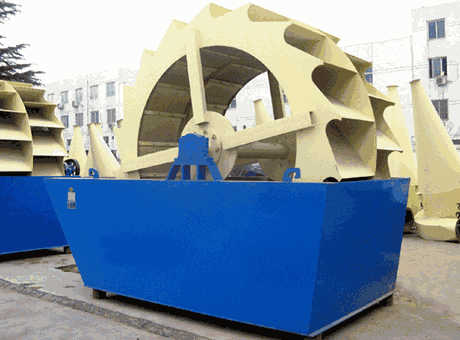 Agadir tangible benefits environmental stone sand washer