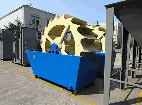 Tangier tangible benefits new soft rock sand washer sell
