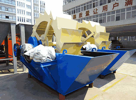 low priceportable calcining ore sand washing machinesell
