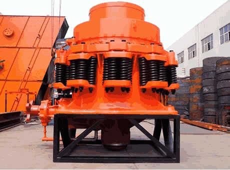 Cone Crusher OperatingPrinsiples