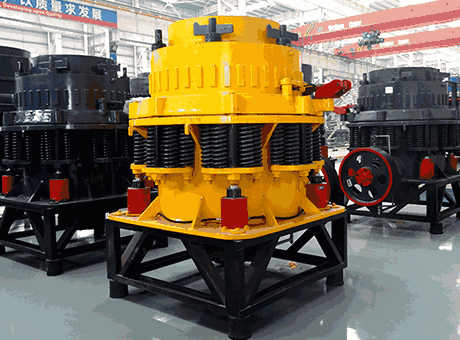 South America efficient medium calcite symons cone crusher