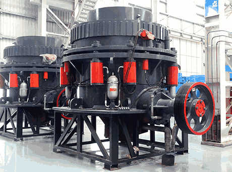Cone Crusher Working Principle  Ore milling Plant