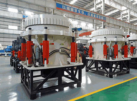 Working principle of hydro cone crusher